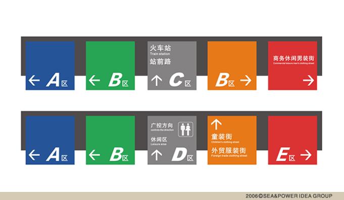 深圳华润万象城标识系统设计,标识设计,导示系统设计